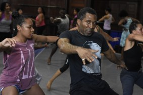 "Carlos Byron, ""Haitian Dance,"" photography, 30"" x 20"", Summer 2019"