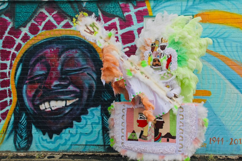 "Christine Crump Dumouchel, ""Bo Dollis Jr. & The Wild Magnolias,"" at Tipitina's, New Orleans, LA, 2021"