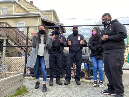 2021 Ubuntu Youth Arts, Chelsea Police Department + GreenRoots Group Photo