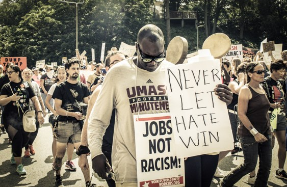 """Walter Crump, """"March for Social Justice,"""" Archival inkjet print, 2019"""
