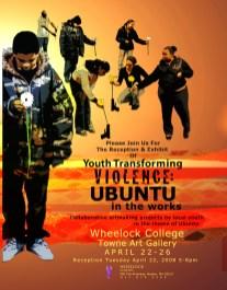 Ron Wilhelmsen, 2008 Exhibition Poster, Boston University Wheelock College of Education & Human Development