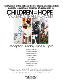 2011 Exhibition Poster, Museum of the National Center of Afro-American Artists