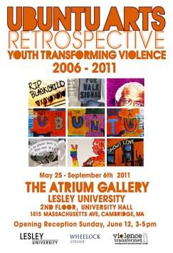 Ron Wilhelmsen, 2011 Exhibition Poster, Boston University Wheelock College of Education & Human Development