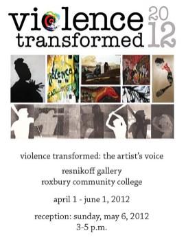 2012 Exhibition Poster, Roxbury Community College