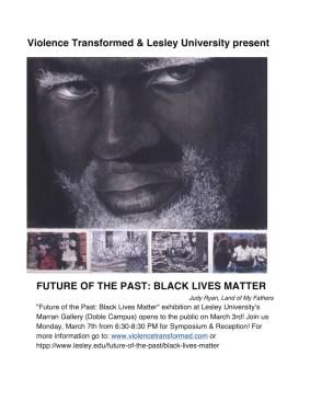 2016 Exhibition Poster, Lesley University
