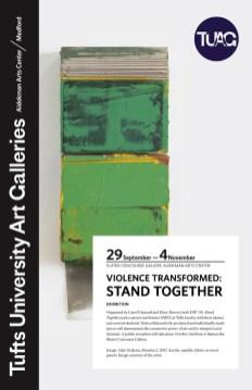 2018 Exhibition Poster, Tufts University