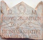 Estela funeraria de Licinia Amias s. III · International Catacomb Society