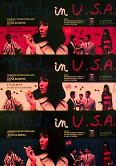 Made in U.S.A., based on The Jugger by Richard Stark (AKA Donald Westlake)