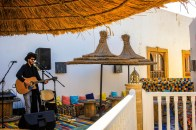 Live music on the roof top every lunchtime! http://salutmaroc.com