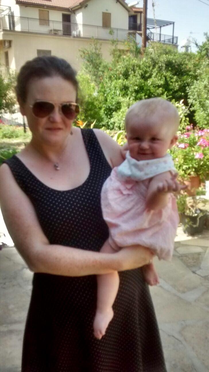 Me & Violet in Cyprus