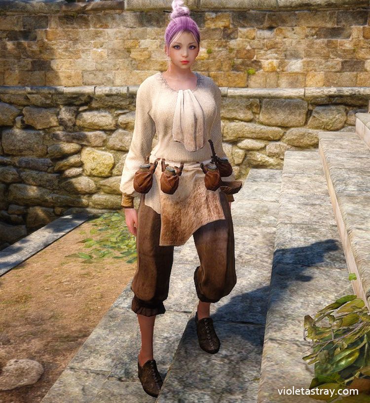 BDO Guide to Crafting Clothes for Life Activities – Violet Astray