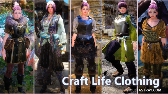 BDO Guide to Crafting Clothes for Life Activities – Violet