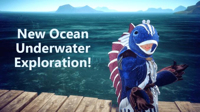 Black Desert BDO underwater exploration content patch