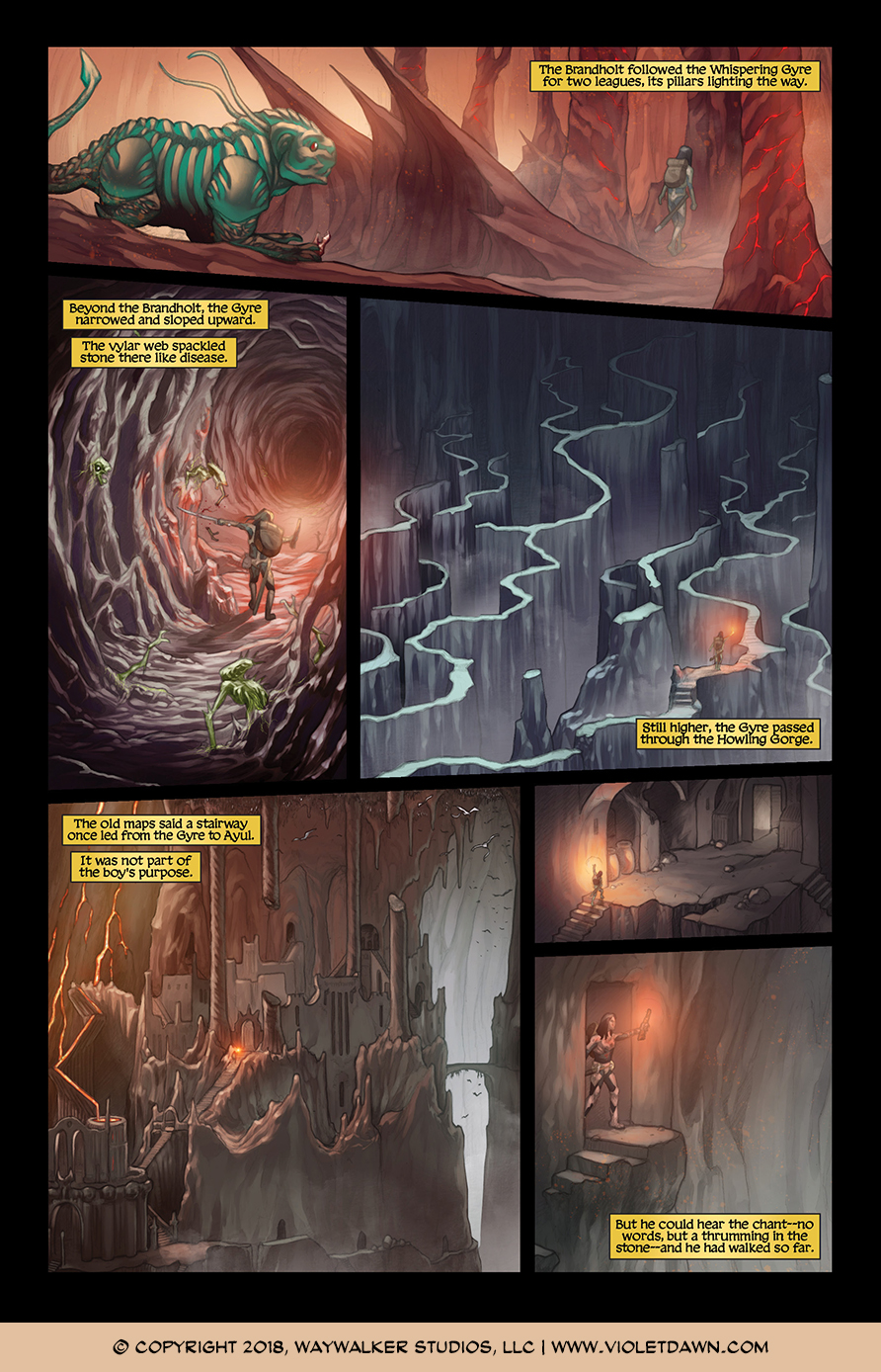 Violet Dawn: Exile – Issue 1, Page 5