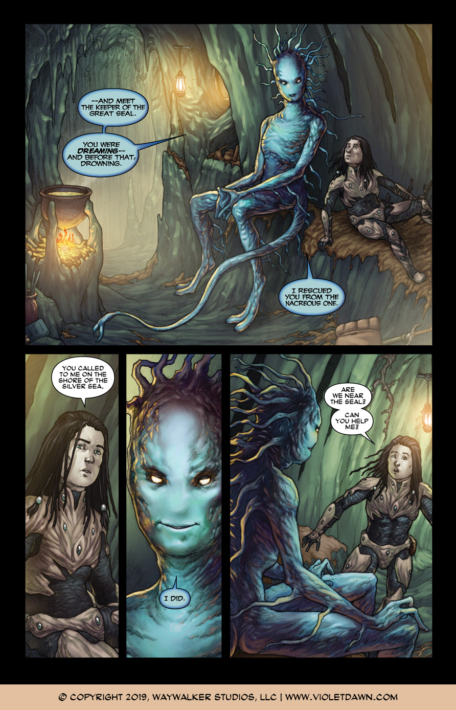 Violet Dawn: Exile – Issue 3, Page 2