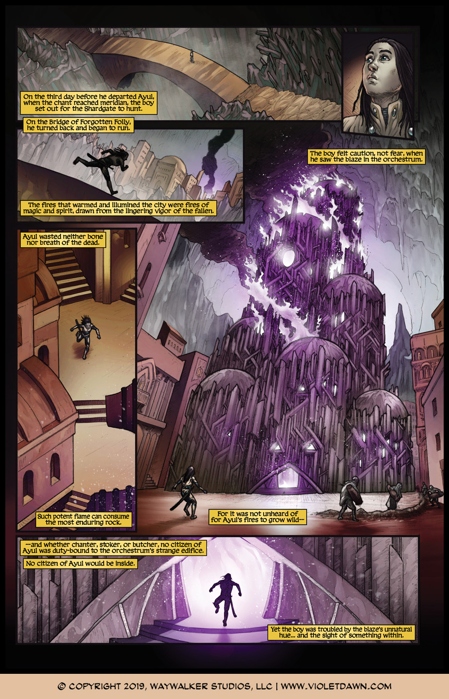 Violet Dawn: Exile – Issue 4, Page 6