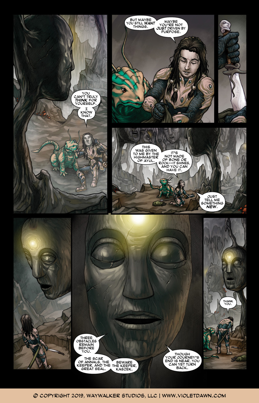 Violet Dawn: Exile – Issue 5, Page 2