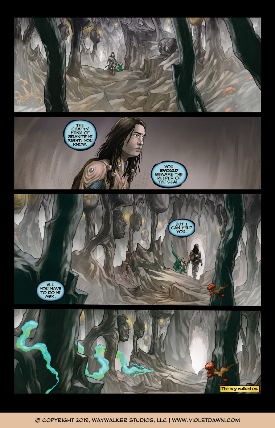 Violet Dawn: Exile – Issue 5, Page 3