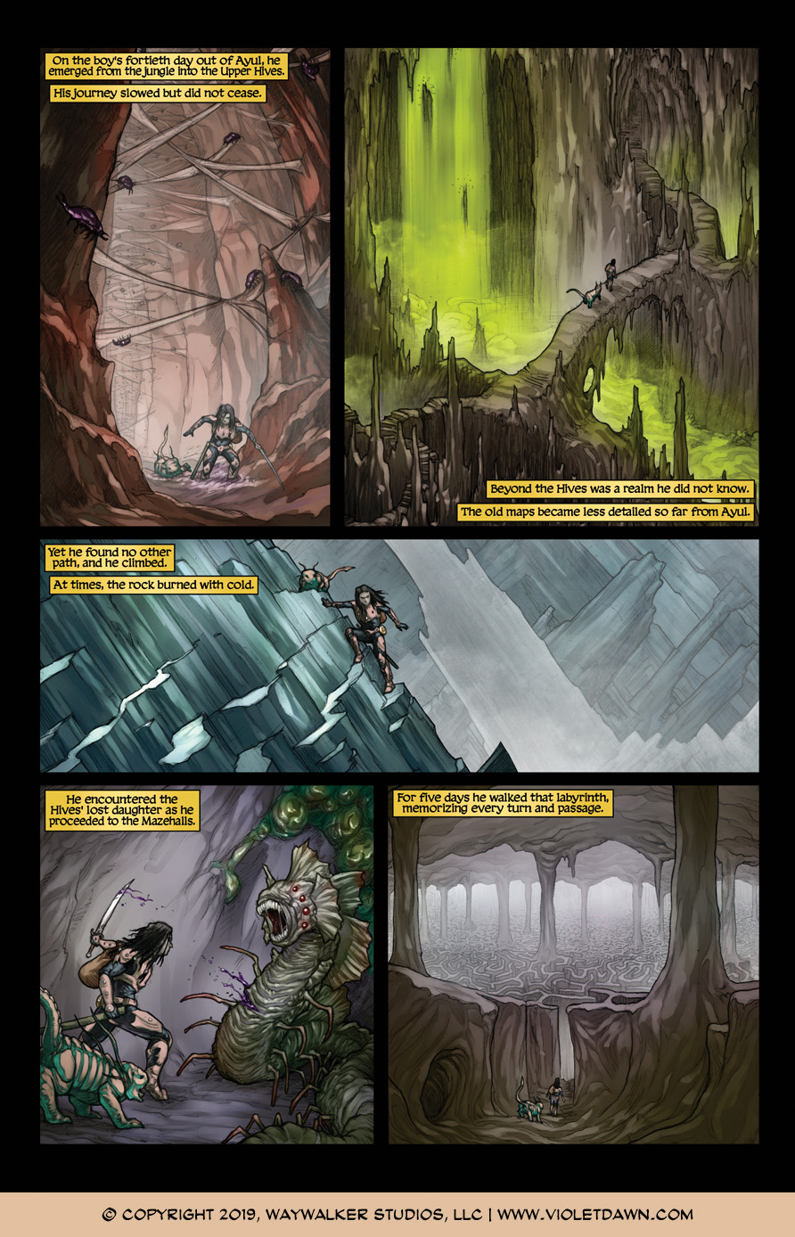 Violet Dawn: Exile – Issue 5, Page 4