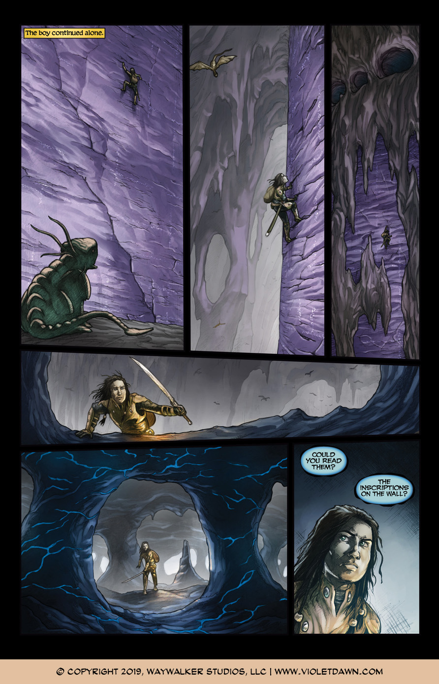 Violet Dawn: Exile – Issue 5, Page 9