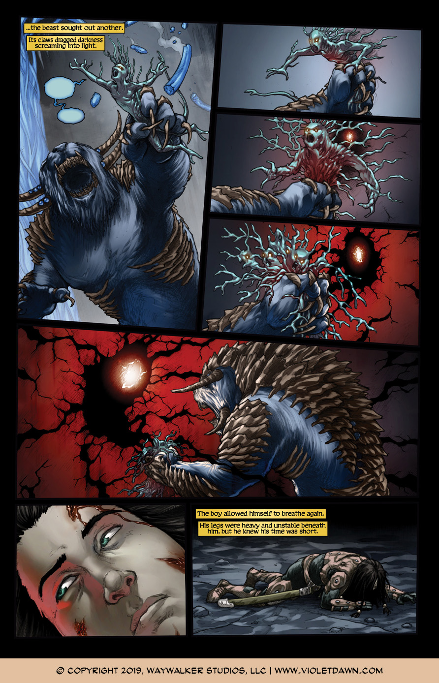 Violet Dawn: Exile – Issue 6, Page 7