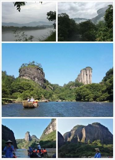 Views of Wuyi Mountain