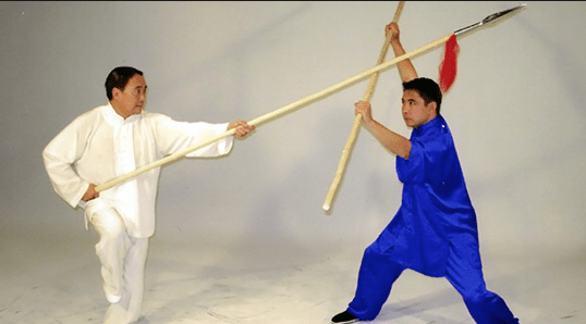 Grandmaster Liang Shou-Yu (left) (Courtesy of IWSD)