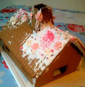 Gingerbread House Christmas 2007