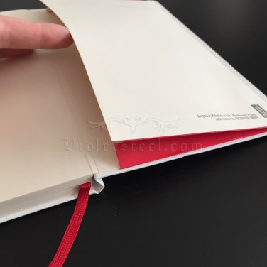 Inside back cover - Pocket