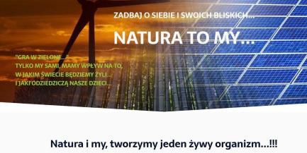 Natura to My - Blog strona główna