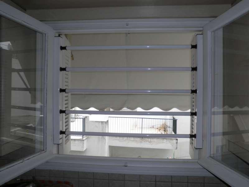 Σταθερές μπάρες για παράθυρα   Βιομεταλουμίν   Χωρίς εμφανή στήριξη   Αισθητική - Ασφάλεια