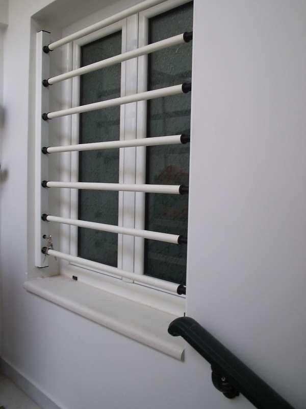Σταθερές μπάρες ασφαλείας για παράθυρα