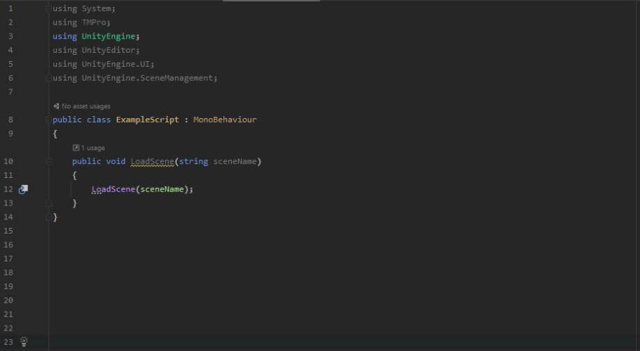 Example script