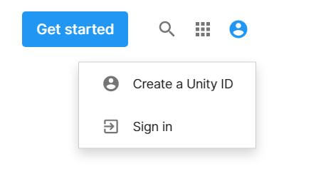 Unity sign in