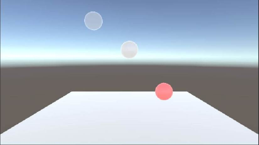 scene without directional lighting