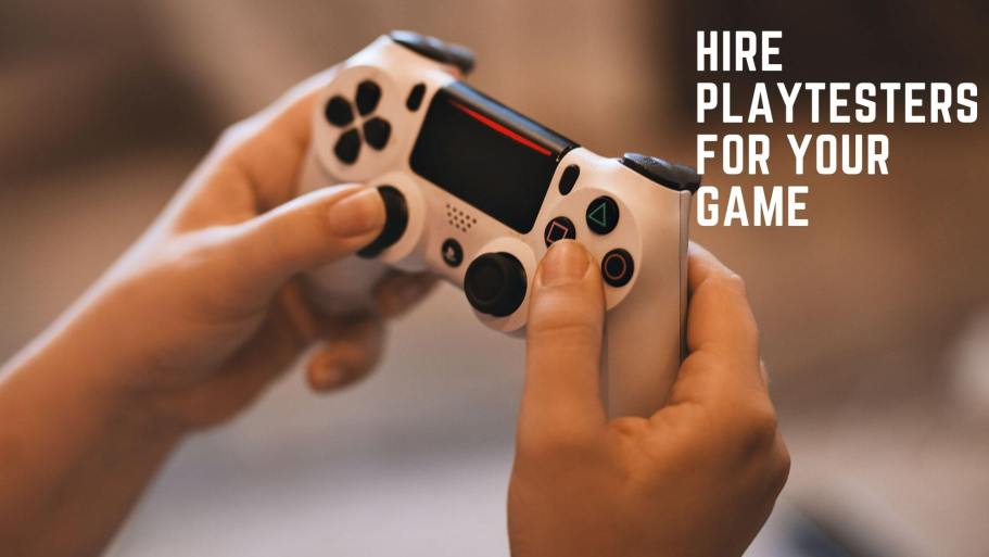 Hire playtesters banner