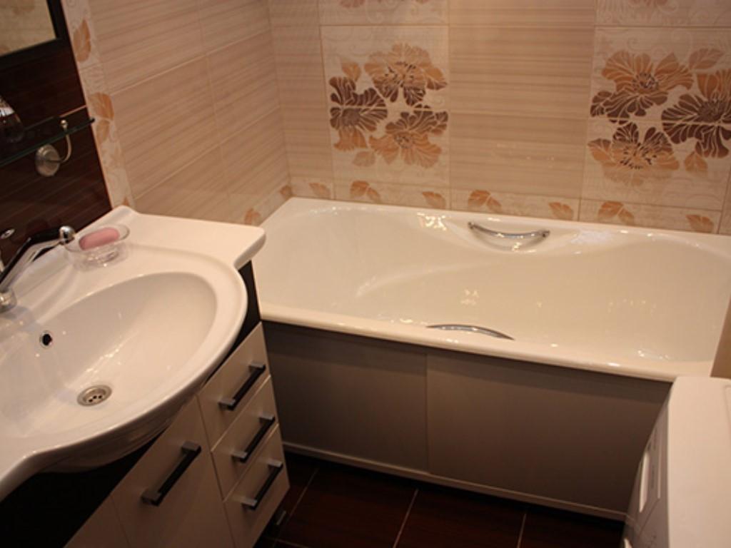 стандартная ванная комната дизайн фото 2