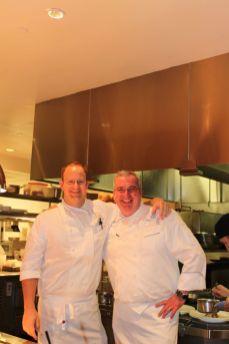 Gute Stimmung herrscht auch in der Küche vom Ritz Carlton Washington D.C.