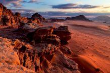 Einzigartig: Die Wüstenladschaften des Wadi Rum