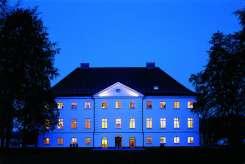Das Schloss stammt aus dem Jahr 1745