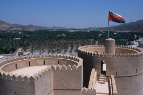 Zahlreiche Forts, wie hier in Nizwa sind heute beliebte Sehenswürdigkeiten. Foto Copyright: Ministry of Tourism, Sultanate of Oman