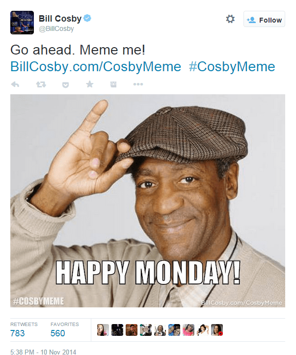 Bill Cosby S Massive Social Media Fail