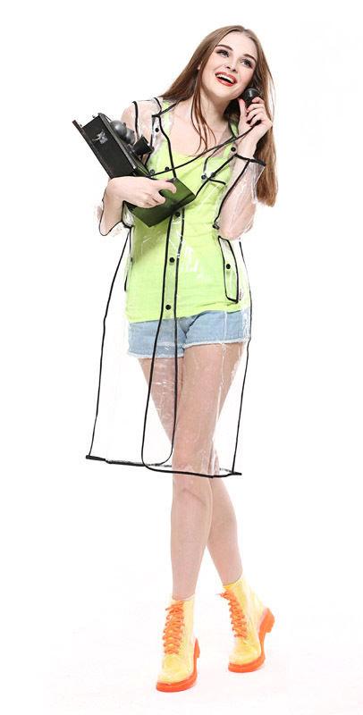 Clear PVC Raincoat