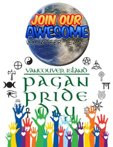 volunteer for vancouver island pagan pride day