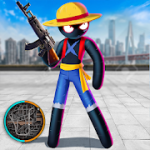Stickman Rope Hero Pirate Fight mod apk (Unlimited Coin/Gems) v1.0