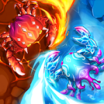 Crab War Idle Swarm Evolution mod apk (much money) v3.20.3