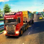 Euro Truck Driving Simulator Transport Truck Games mod apk (Free Shopping) v1.29