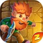 Dig Out! Gold Digger Adventure mod apk (Unlock all skins) v2.17.0