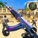 Gun Strike Real 3D Shooting Game- Mobile FPS mod apk (UNLIMITED GRENADES/MONEY/NO ADS) v2.0.2
