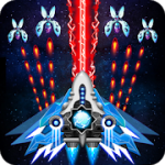 Space shooter Galaxy attack Galaxy shooter mod apk (Infinite Diamonds/Cards/Medal) v1.465